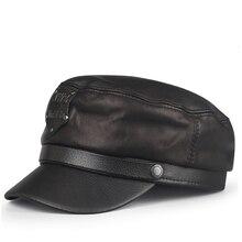 Шапка для молодых студентов, мужская женская кожаная кепка с тиснением, осенняя и зимняя Корейская мужская и женская Повседневная модная плоская кепка, шапка