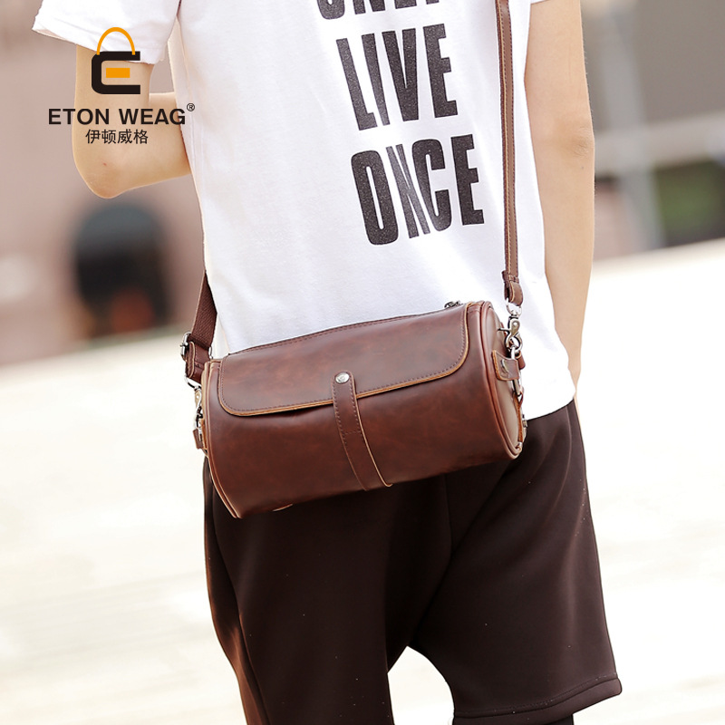 ETONWEAG Brands Cow Leather Crossbody Bags For Women Messenger Bags Brown Zipper Vintage Shoulder Bag Organizer Womens Bag 2018 icev new brands simple cow leather crossbody bags for women messenger bags high quality ladies bag made of genuine leather bags