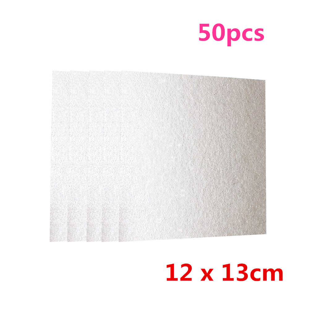50pcs Mica Plates Sheets Microwave Oven
