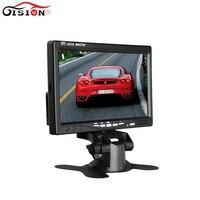 O envio gratuito de 800*480 HD TFT LCD Monitor Do Carro com entrada AV  Especial para o Veículo DVR  7 polegadas Car Monitor de Estacionamento