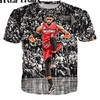 PLstar Cosmos Hot Sale 2017 Fashion Men S T Shirts Creative Design T Shirt Star Lebron