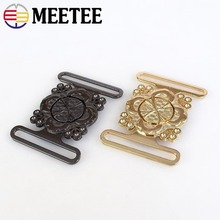 3Set Retro Gold,Gun Black Alloy Clip Buckle Round Coat Windbreaker Belt Handwork Metal Buttons for Garment Decoration
