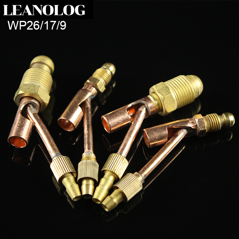TIG Fitting Male Cable and Gas Separate Cable Connector For WP9 WP17 WP26