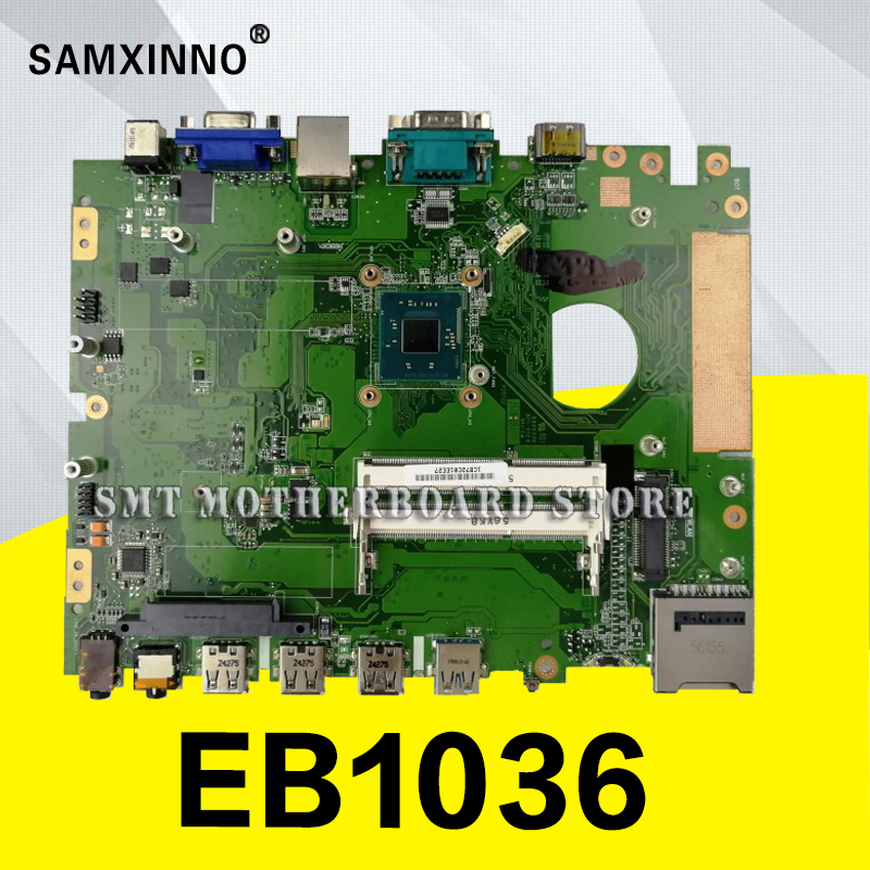EB1036 MAIN_BD._J1900/AS 90PX0040-R01000 motherboard For Asus EB103 EB1036 Laptop motherboard Mainboard