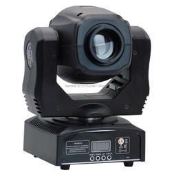 (4 шт./лот) Китай 60 Вт движущаяся головка светодио дный LED gobo dmx сценическое освещение 60 Вт 11 каналов 7 gobo + открытый, эффект gobo-flow, gobo shake