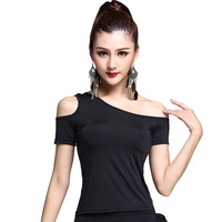 New Modern Sexy Latin Dance Clothes Top For Women Female Girl Lady Ballroom Tango Samba Costume
