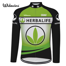 HERBALIFE cycling jersey long sleeve Breathable Bicycle HERBALIFE Clothing Riding HERBALIFE Clothes Outdoor Sports 8012 цена