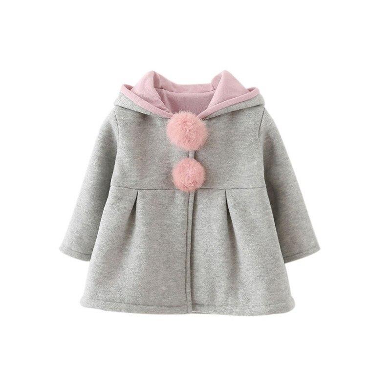 Aliexpress Com Buy Autumn Winter Cute Girls Hooded Coat