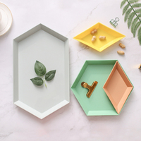 Creative European Fruit Plate Set And Multi Function Home Living Room Desktop Decoration Sundries Snack Foods Storage Tray Set