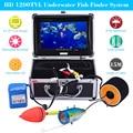 "KKmoon Original 15M 1200TVL Fish Finder Underwater Fishing 7"" TFT LCD Video Camera Monitor 12pcs LED Lamps Night Vision Camera"