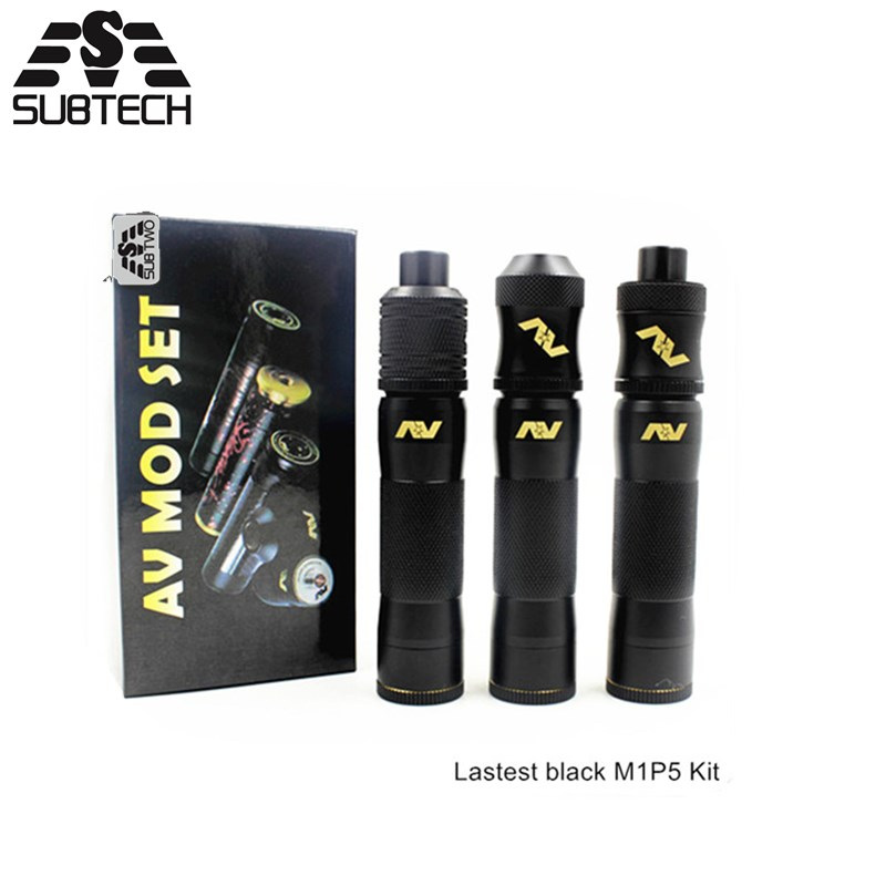 SUB TWO M1P5 innovative new product mechanical mods Kit adjustable Mechanical 18650 Mods Vape pen Kits Electronic Cigarette