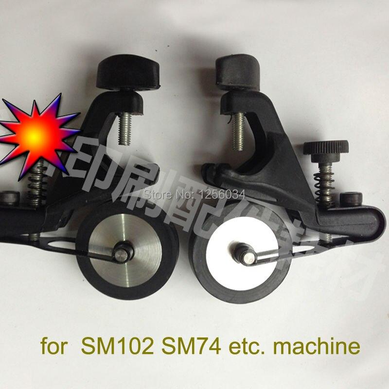 1 set free shipping heidelberg SM102 SM74 rubber wheel, SM102 parts, SM74 parts