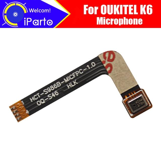 OUKITEL K6 מיקרופון 100% מקורי חדש מיקרופון החלפת אביזרי חלק עבור OUKITEL K6 חכם טלפון
