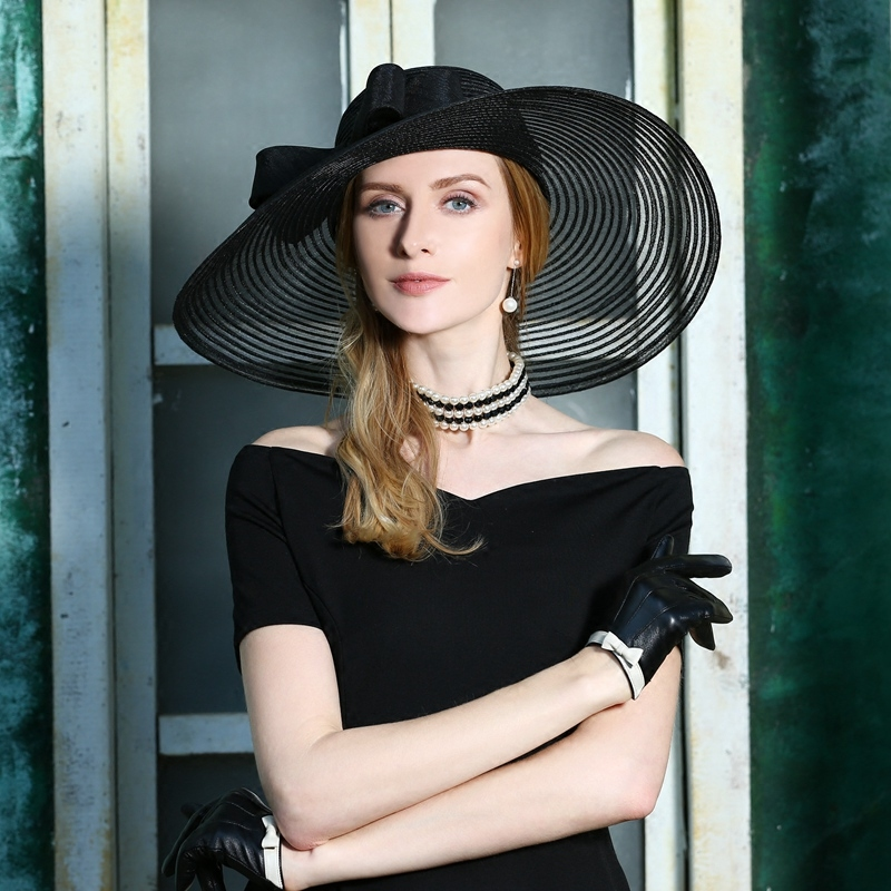 d2229aa12 Buy woman blue elegant hat and get free shipping on AliExpress.com