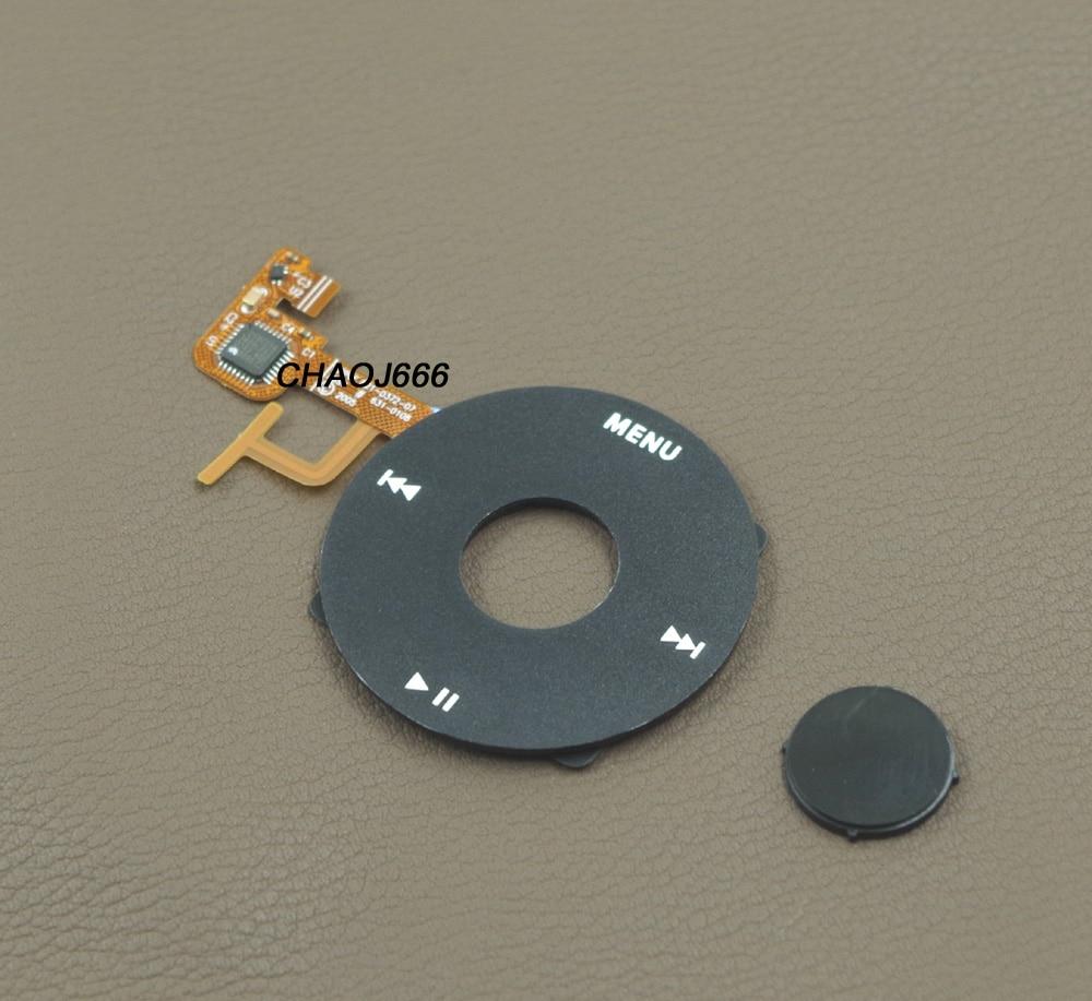 Black 5pcs New Click wheel for ipod 5th gen video 30GB