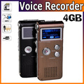 Free Shipping New 4GB Digital Voice Recorder Dictaphone Multi-function MP3 Player Speaker  with TF Card Slot