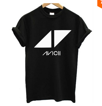 Fashionable AVICII T SHIRT DON'T WAKE ME UP DANCE HOUSE TRANCE DJ MUSIC HOUSE MENS Tee casual t shirt man