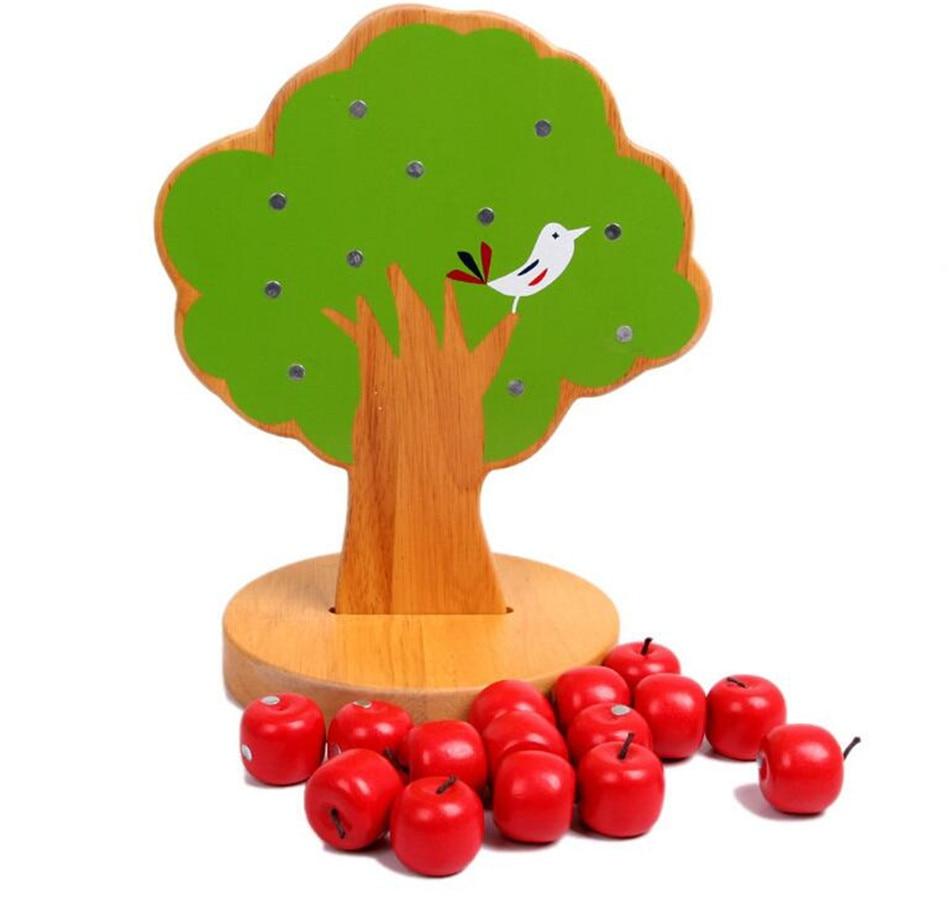 SUKIToy Wooden Montessori educational math toys Magnetic