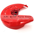 CNC Red Billet Front Brake Disc Cover Protector for CR125R CR250R 2004-2007 CRF250R 250X 450R 450X 2004-N Disc Rotor Guard