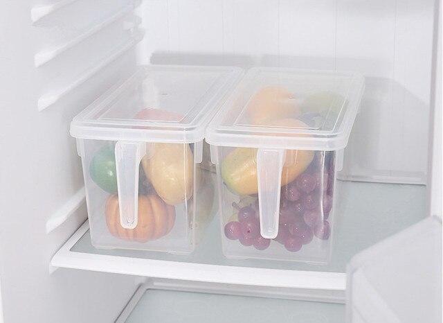 Kühlschrank Aufbewahrungsbox : 1 stÜck kühlschrank essen lagerung kassette mit griff klare