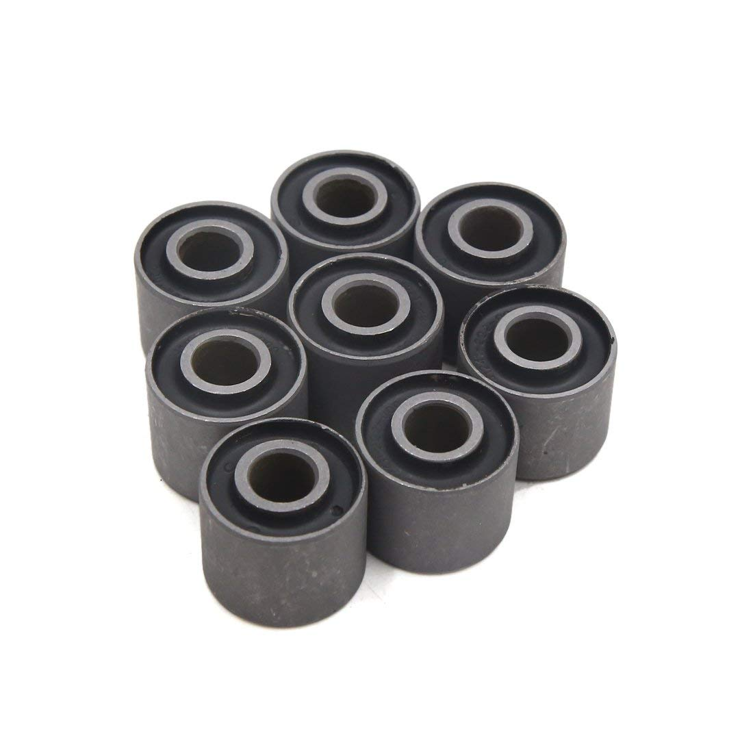 Uxcell A17090700ux0121 8Pcs 41241-222-000 Metal Motorcycle Rear Wheel Damper Bushing For CG125, 8 Pack