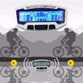 2017 Wireless Waterproof LCD Bicycle Bike Cycling Computer Odometer Speedometer Velometer for bike wireless bicycle accessories