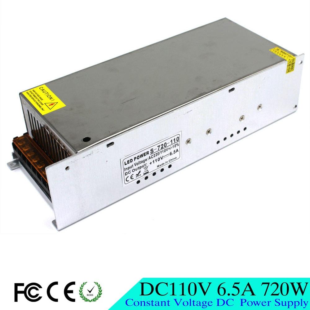 720в 6.5а DC110V источник питания импульсный трансформатор драйвера 110В 220В AC к DC 110В выход для LED промышленного оборудования машины