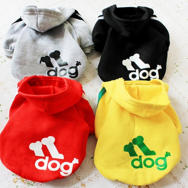 Winter Dog Clothes For Small Dogs Warm Dog Clothing Coat Jacket Puppy Clothes Pet Cat Hoodies Yorkie Chihuahua Clothes Apparel