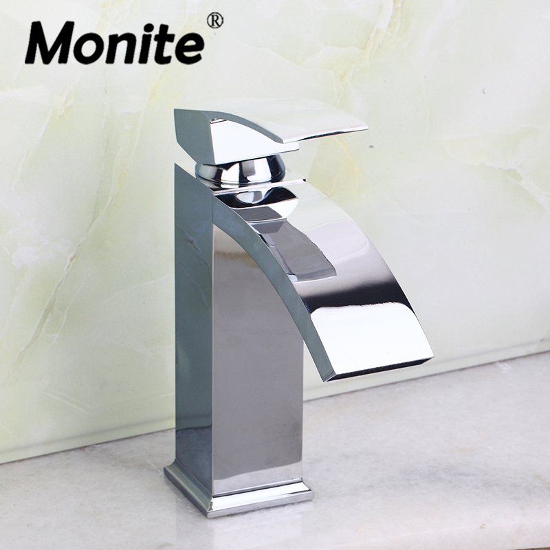 contemporary bathroom basin sink faucet single holder single hole with brass hole cover plate chrome RU Chrome Brass Bathroom Basin Sink Faucet Single Handle Basin Vessel Single Hole Sink Mixer Tap Counter Basin Faucet