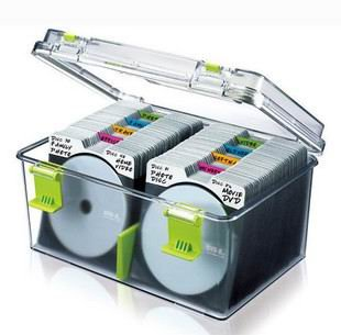 Charmant Cache Moisture CD Storage Box