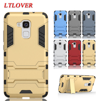 Fashion Iron Man Design PC + TPU Anti Shock Proof case for Huawei Honor 5c 5.2