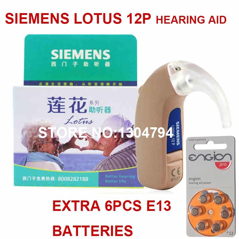 Health And Beauty Aids: 2018New 100% Original SIEMENS Hearing Aids Lotus 12P BTE