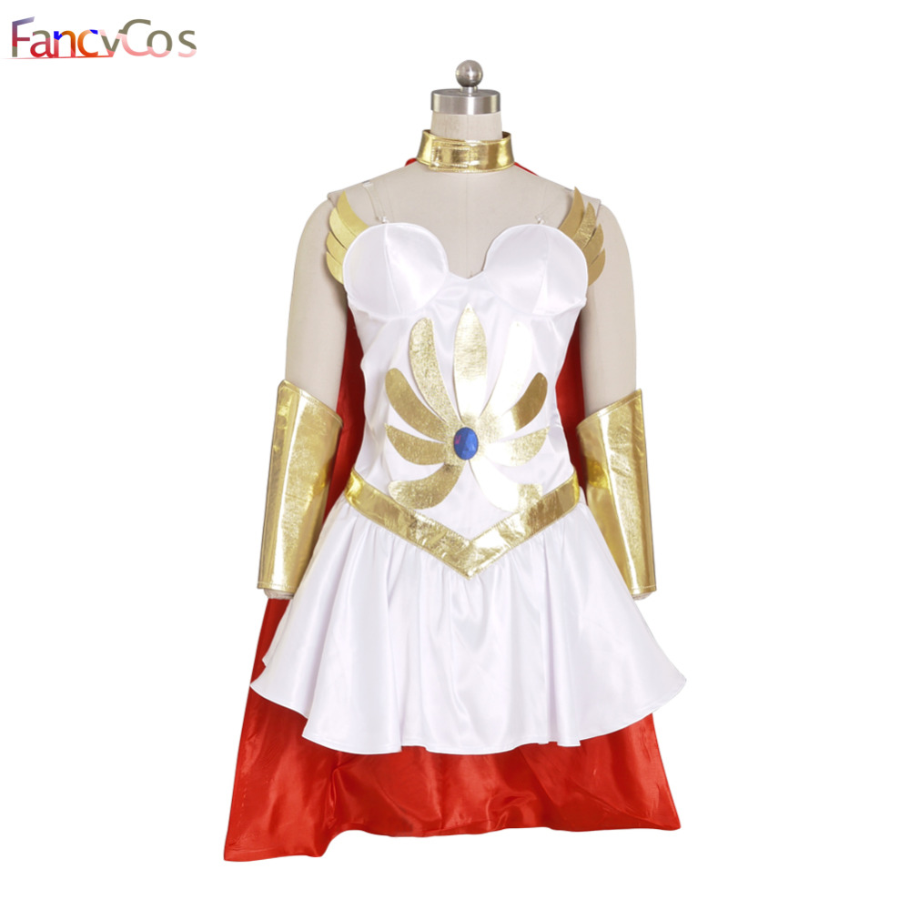 Halloween New Women She Ra  Princess of Power She Ra  Dress Costume Cosplay Adult High Quality Deluxe High Quality Custom Made