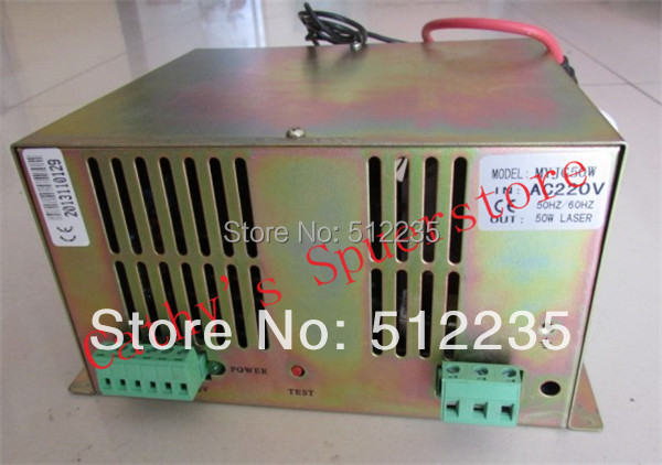 Co2 Laser Power Supply 50W for Co2 Laser Tube 50W for Co2 Laser Cutting Machine 50W co2 laser machine laser path size 1200 600mm 1200 800mm