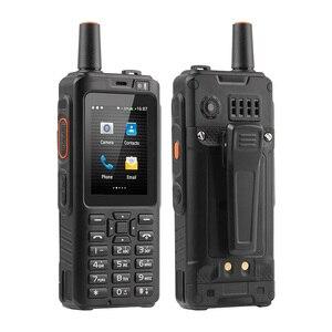 Image 3 - UNIWA F40 Zello Walkie Talkie 4G telefon komórkowy IP65 wodoodporny wytrzymały smartfon MTK6737M czterordzeniowy telefon z funkcją Android