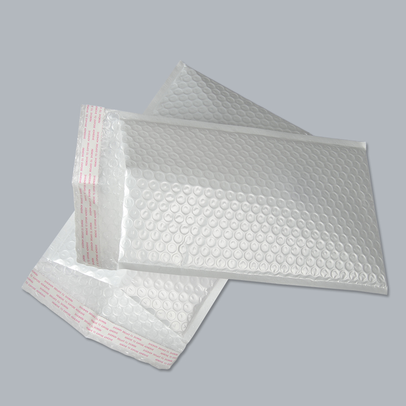 Lot de 50 films à bulles 18*23cm | Emballage rétractable aux chocs, lot de enveloppes à bulles, sacs blancs, express à linternational, 18x 23cm