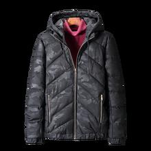 plus Size 2XL-9XL Winter Jacket Men Cotton Softshell Thicken Jacket Hoodie Windbreak Warm Parkas Varsity camouflage Jacket недорого
