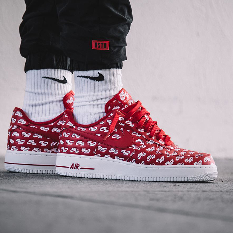 cheap for discount 36e4e 4875d Original New Arrival Authentic Nike Nike Air Force 1 AF1 07 QS Men s  Breathable Skateboard Sneakers Good Quality AH8462 600-in Skateboarding  from Sports ...