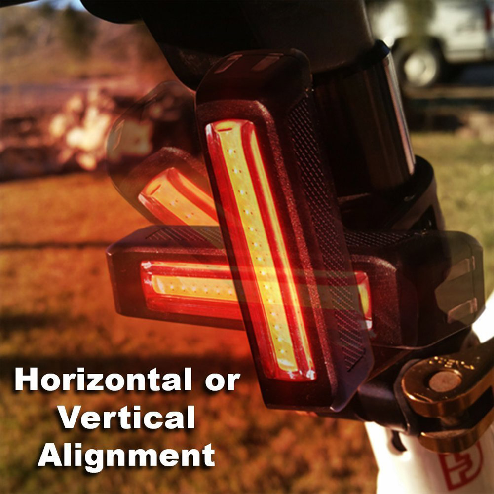 Tail-Light Bike Led Bicycle Mountain-Bike Rechargeable USB For ALS88