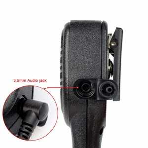 Image 5 - 10pcs Loud and Clear PTT Speaker Microphone With 3.5mm Audio Jack For Kenwood Retevis RT5R H777 RT5  For Baofeng UV5R 888S Radio