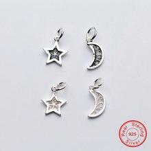 Uqbing 100% Серебряный Бисер Очарование полое тайское серебро