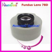 ¡78DM tan bueno como la lente Volk! Funda de plástico duro para lente de cristal de contacto, lámpara de hendidura para Fundus oftálmico, envío gratis