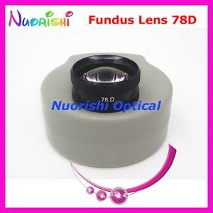 Image 1 - ¡78DM tan bueno como la lente Volk! Funda de plástico duro para lente de cristal de contacto, lámpara de hendidura para Fundus oftálmico, envío gratis
