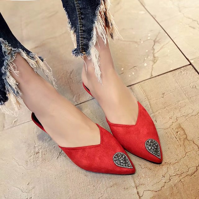 mules high heels red shoes woman yellow shoes designer slides women 2018  teen slippers vrouwen dames slippers slip on sandals gg 0dda8a1c2239