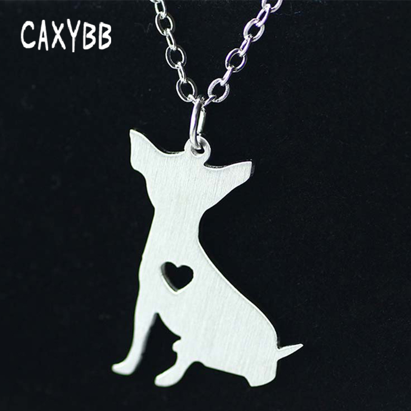Cute Chihuahua Stainless Steel Necklace Choker Animal Dogs Breed Charm Pet Necklaces Memorial Gift For Men Women Bijoux In Chain From Jewelry