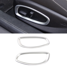 Interior Accessories Seat Position Adjuting Cover Decor Trim ABS 2pcs For Chevy Chevrolet Camaro 2016 2017
