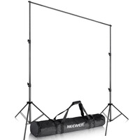 Neewer Heavy Duty Backdrop Support System Adjustable Photography Studio Video Stand With Carrying Bag