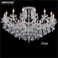 Classic crystal chandelier light Deckenleuchten fixture hotel maria theresa crystal Pendelleuchte light for lobby foyer MD8477