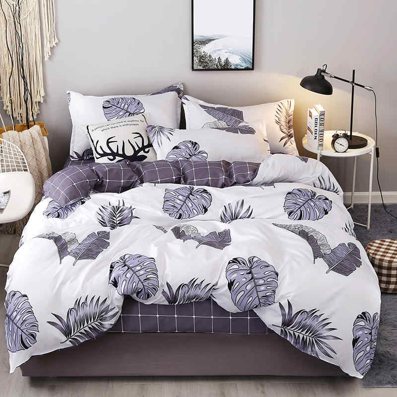 Bohemian Bedding Set Polyester Cotton Soft Bed Linen Duvet Cover Pillowcases Bed Sheet Sets Home Textile Coverlets