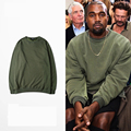 2016 High Quality Kanye West Hoodie Mens WARM Hip Hop Hoodies With Fleece Autumn And Winter Sweatshirt Women Asia Size S-3XL